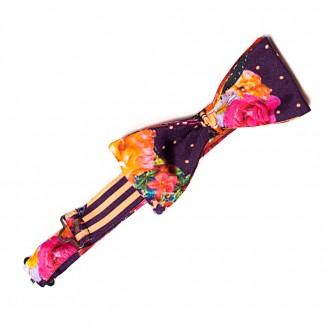 flower show bow tie