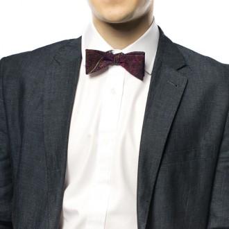 mini egg bow tie