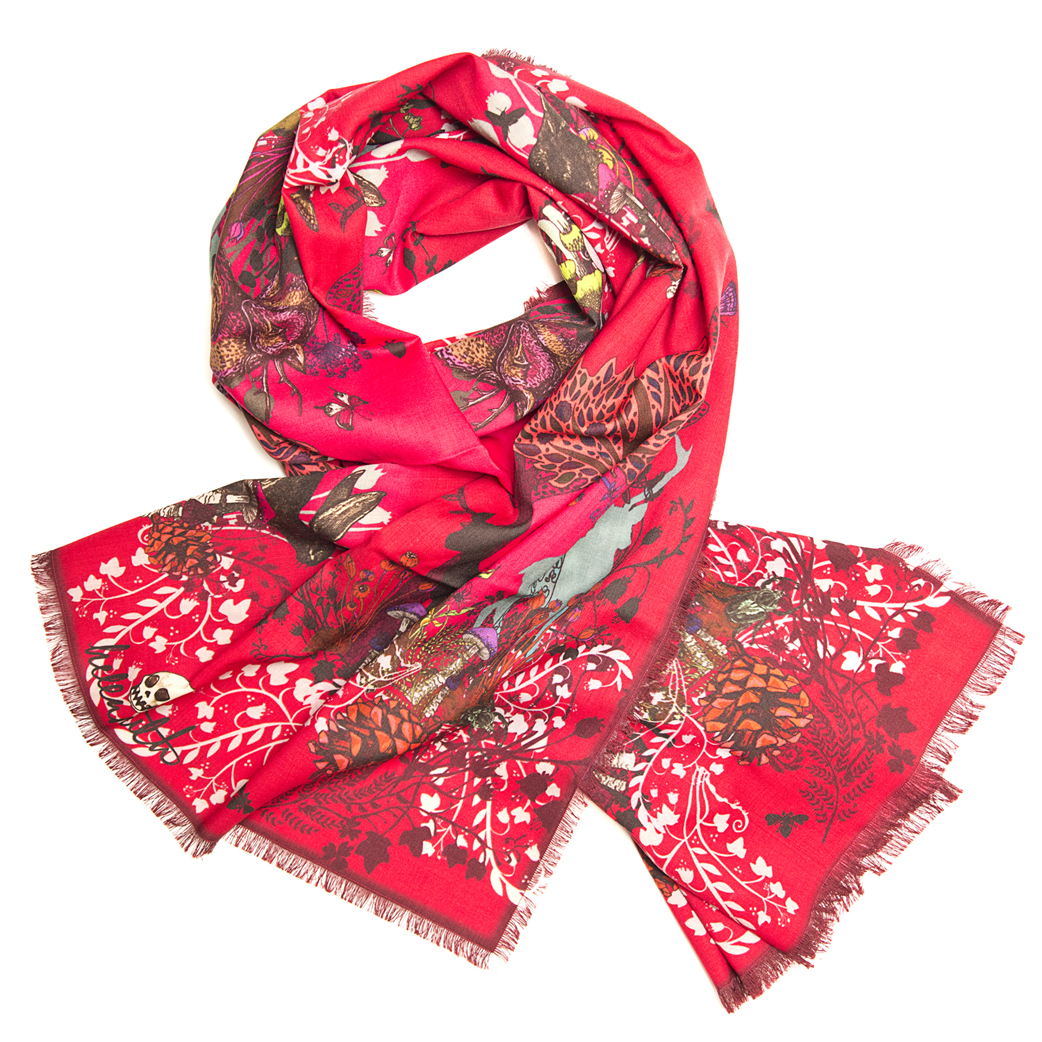 ruby woodland helen ruth scarves