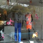 Window Display - Wolf and Badger - Autumn 2011